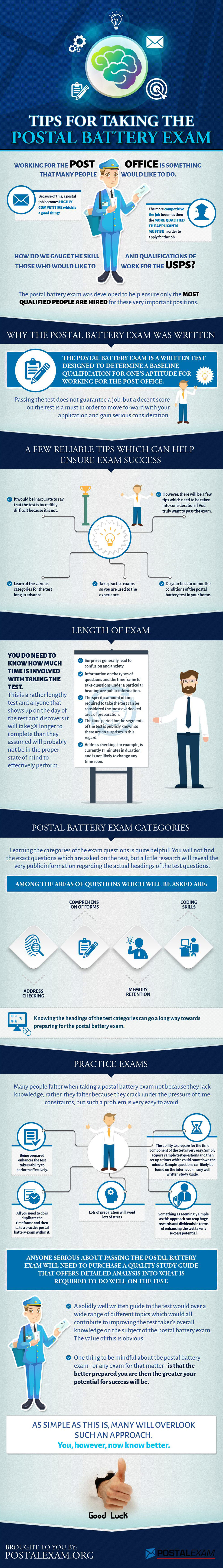 Postal Battery Exam